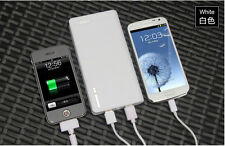 Universal 20000mAh USB External Battery Power Charger All Cell Phone + Adapters