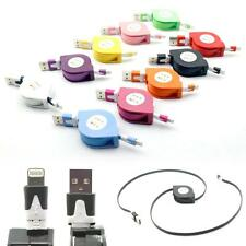 New Retractable USB Data Sync Charger Cable For iPhone 5 5C 5S 6 Plus iPod Touch