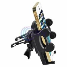 Black Air Vent Car Mount Holder for iPhone 5 5S 6 Galaxy S4 S5 Note 4 Nokia HTC