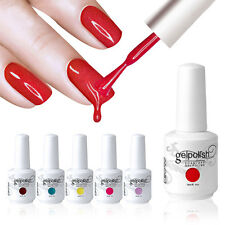 Elite99 Soak-Off Gel Polish Nail Art New Bling Colours Base Top Coat UV LED Lamp