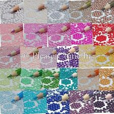3mm Flat Back Pearl Rhinestone Scrapbooking/Ca​rd Making/Weding