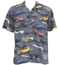 Corvette C5 Cars Hawaiian Camp Shirt by David Carey