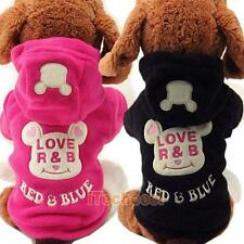 Pet Cute Cartoon Hoodie Sweater Coat Apparel Warm Clothes for Dog Pet Cat Puppy