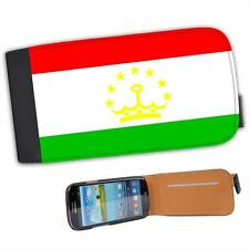 Tajikistan Flag Leather Flip Case for Samsung S3