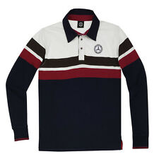 NEW MERCEDES-BENZ MEN'S CLASSIC RUGBY SHIRT