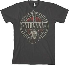 AUTHENTIC NIRVANA EST 1988 GUITAR STAMP ROCK MUSIC BAND T TEE SHIRT S M L XL 2XL