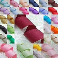 "5 meters Grosgrain Ribbon 25mm (1"") 30 Colours for Your Choices"