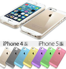 ► TPU Silikon Schutz Hülle Transparent Tasche Bumper Case Cover klar Clear Apple