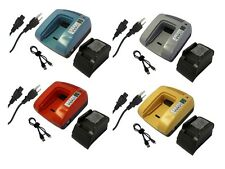 Fast Charger For MAKITA 14.4V Li-ion 194065-3 194066-1 BL1430 battery dual USB
