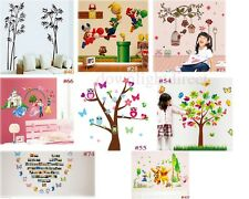 Multi Disney Sticker Art Decal Wall Stickers Home Decor Nursery Kid's Room Decor