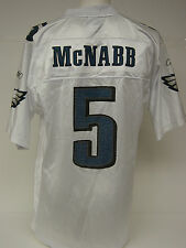 NEW Mens REEBOK Donovan MCNABB #5 White Phila EAGLES NFL Football Jersey NO TAG