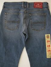 LUCKY BRAND JEANS CLASSIC STRAIGHT BLUE PANTS DENIM NEW WOMENS DUNGAREE STONE