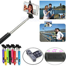 Handheld Bluetooth Selfie Stick Monopod Extendable For iPhone Samsung HTC Sony