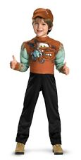 BOYS DISNEY CARS TOW MATER DELUXE MUSCLE COSTUME DRESS DG27252 NEW