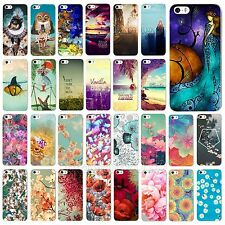 Beauty Cute Scenery Flower Pattern Phone Hard Case Cover For iPhone 4 4S 5 5S 5C