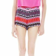 L'amour By Nanette Lepore Pleated Elastic-yoke Soft Shorts Size M MSRP $34.00