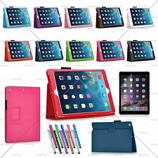 Luxury Leather Case Stand Cover Smart Magnetic for Apple iPad Air & iPad Air 2