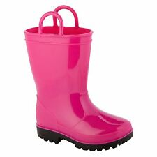 Joe Boxer Youth Arcade Rain Boots Girl Pink Size 3, 4 & 5  Medium Width NWT