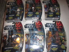 STAR WARS - THE CLONE WARS COLLECTION ACTION FIGURES New sealed Hasbro