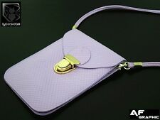 EB17u Women's Purse Coin Cell Phone Case Mobile Pouch Shoulder Bag for Samsung