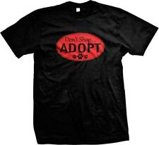 Don't Shop Adopt Rescue Dogs Unconditional Love Stray Puppies Mens T-shirt