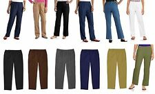 NEW White Stag Women's Plus Reg Knit, Denim & Twill Pull-On Pants Jean FREE SHIP
