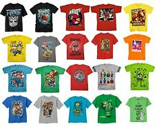 NEW Boy's Character Graphic Tee T-Shirts Mario Lego Minion Angry Birds S M L XL