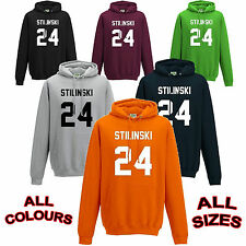 STILES STILINSKI - TEEN WOLF - DYLAN O'BRIEN HOODY - NEW - ANY COLOUR / ANY SIZE