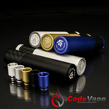 Paragon v3 Mechanical Mod w/ Drip Tip. Black, White, Bronze, Steel & Royal Blue