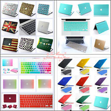 "Rubberized Matt Hard Case +Keyboard Cover for Macbook Air Pro 11"" 13"" 15"" inch"