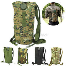 Hiking Climbing 3L Water Bag  Survival Hydration System Pouch Backpack Bladder