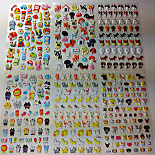 Animal Dogs / Cats Puffy Stickers Stationery School Equipment DIY kits for Kids