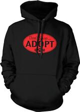 Don't Shop Adopt Rescue Dogs Unconditional Love Stray Puppies Hoodie Pullover