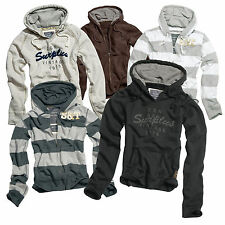 SURPLUS™ Raw Vintage Hoody Jacke Hoodies Damen & Herrenmodelle Stripe/Plain/V-