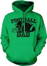 Football Dad Touchdown Grid Iron Hero Support Coach Love Bond Hoodie Pullover