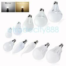 4 Energy Saving E27 E14 Globe LED Bulb Lamp Light 2W 3W 5W 7W 9W Warm Cool White