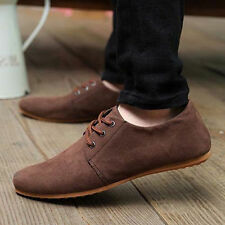 Fashion British Men's Casual Lace Slip On Loafer Shoes Moccasins Driving Shoes