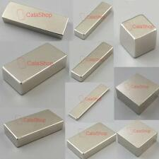 Block Neodymium Disc Rare Earth Super Strong Fridge Magnets Magnet N35 N52 N50 K