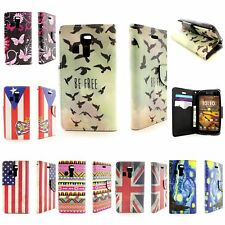 Design Wallet Case with Screen Protector + Strap for Kyocera Hyro Life / Icon