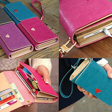 Hot Sweet Envelope Card Wallet Leather Purse Case Cover For Samsung Galaxy S2 S3