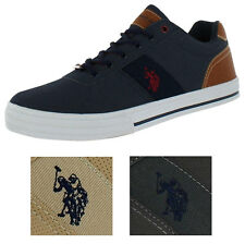 U.S. Polo Helm Men's Boat Sneakers Shoes Perforated