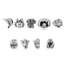 925 Sterling Silver Sealife European Charm Bead