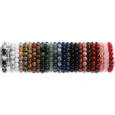 6MM Fashion Round Kinds Material Loose Beads Bracelets Jewelry Making Beads