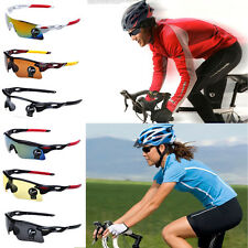 New Unisex Cycling Bike Sunglasses Outdoor Hiking Colorful Sports Golf Glasses