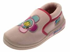 Kids Girls Fifi And The Flowertots Pink Slippers Childrens Shoes Size UK 4 - 10