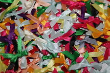 7mm Satin Ribbon Bows packs of 100 CHEAPEST ON EBAY, add 5 only pay for 4