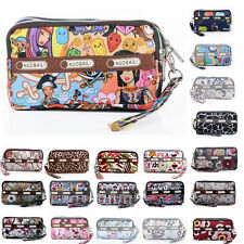 New Style Women Mini Clutch Zip Bag Coin Purse Wallet Phone Bag Card Holder A03
