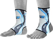 RDX Ankle Foot Support Anklet Pads MMA Brace Guard Gym Sport Sock Protector  CA