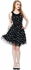 Sourpuss Dance Anchor Dark Sailor Pinup Punk Gothic Goth Rockabilly Dress S-Xxl