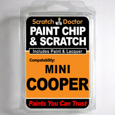 MINI COOPER TOUCH UP PAINT Stone Chip Scratch Car Repair Kit . 2004 - 2007